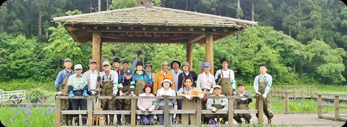 子どもたちが駆け回れる野山をつくりたい森づくり活動