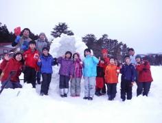 【終了しました】雪で!たき火で!!遊ぼうキャンプ