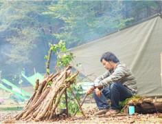 【終了】大人のためのブッシュクラフトキャンプ