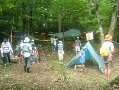 【終了】夏の親子キャンプ~親子でカヌー&ピザ~