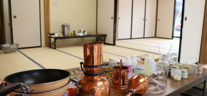 里山と暮らしの講座「じっくりダッジオーブンと蜜蝋キャンドルの夕べ」終了しました
