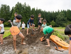 【終了】泥あそびエリアフリー開放~真夏の忍者修行~