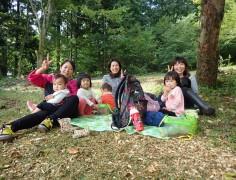 森でよちよちピクニック~ゆめの森のようちえん体験~