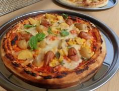 夜を楽しむ窯焼きピザ体験